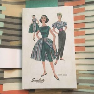 Simplicity Vintage Note Book Stylish Pattern
